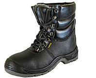 """Берці зимові утеплені з металевим носком, напівчоботи Cemto """"KOMFORT"""" (9012) 48, фото 1"""