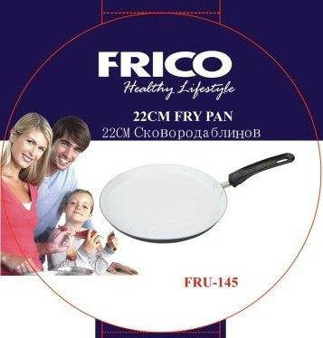 Сковорода блинная Frico FRU-145 22 см, фото 2