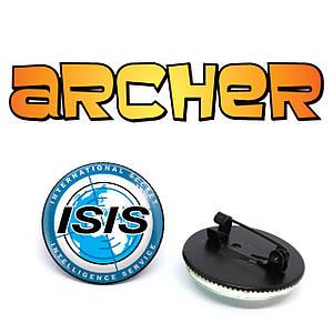 "Значок Спецагент Арчер ""Isis"" / Archer"