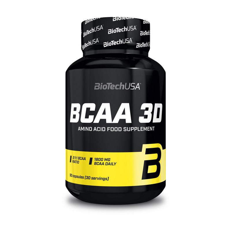 Аминокислота БЦАА 3D BioTech BCAA 3D (90 caps)