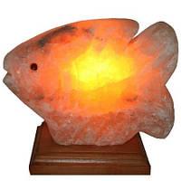 """Соляна лампа нічник """"Рибка велика"""" 4,1 кг"""