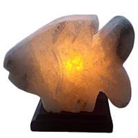 """Соляная лампа ночник """"Рыбка малая"""" 2,9 кг"""
