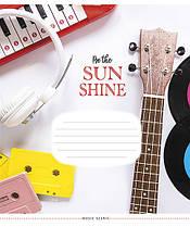 "Зошит 24 л. лінія Star ""Be The Sunshine 2858/63572, фото 3"