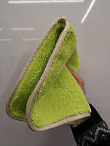 Полотенце-рукавица для сушки - Autofiber Double Flip 20х20 см. 1100 gsm зеленое (T2FLIP1100GM-3), фото 2