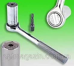 Гаечный Ключ – головка Gator-Grip, от 7 до 19mm,