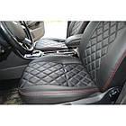 Чехлы на сиденья Фиат Линеа (Fiat Linea) (модельные, 3D-ромб, отдельный подголовник), фото 9