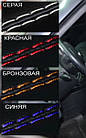 Чехлы на сиденья Пежо Эксперт Ван (Peugeot Expert Van) (1+2,модельные, экокожа+автоткань, отдельный, фото 8