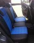 Чехлы на сиденья Пежо Эксперт Ван (Peugeot Expert Van) (1+2,модельные, экокожа Аригон+Алькантара, отдельный, фото 9