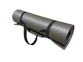 Килимок для фітнесу Т-8 сірий