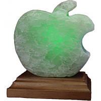 """Ночник соляной светодиодный USB """"Яблоко"""" 1 кг"""
