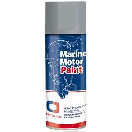 Фарба акрилова для човнових моторів Yamaha, сірий металік, Osculati.