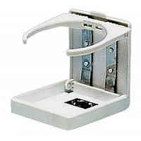 Подстаканник складной для катера пластик белый Osculati.