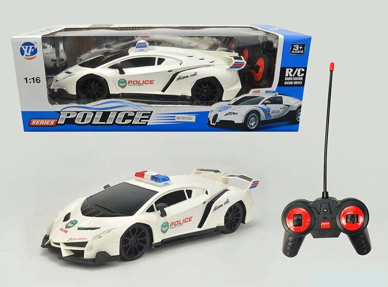 Машина на радиоуправлении Полиция 789-600 С, свет