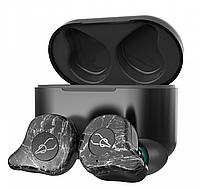 Беспроводные Bluetooth наушники Sabbat E12 Ultra Advanced stone c поддержкой aptX Черно-серый