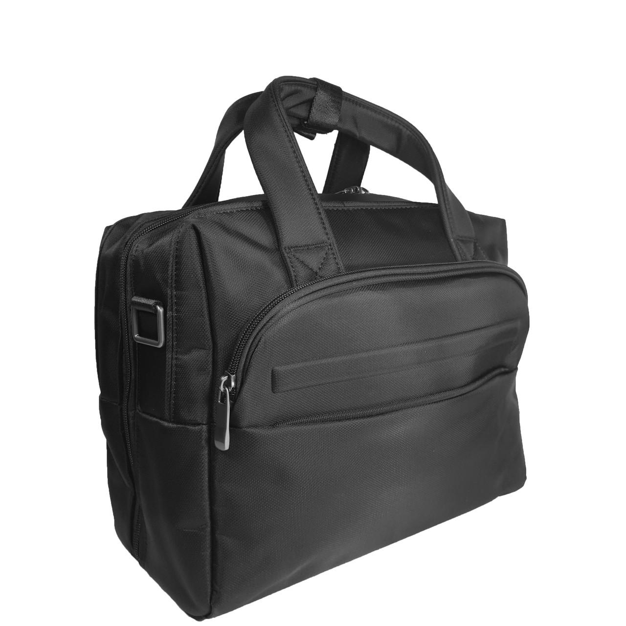 Чоловічий однолямочный рюкзак з екошкіри