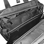 Чоловічий однолямочный рюкзак з екошкіри, фото 7