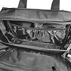 Чоловічий однолямочный рюкзак з екошкіри, фото 6