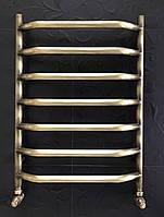 Бронзовый полотенцесушитель 500*700 Ольха 07П АЗОЦМ, фото 1