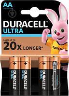 Батарейка DURACELL ULTRA LR6 AA Blister 4шт. (ОРИГИНАЛ)