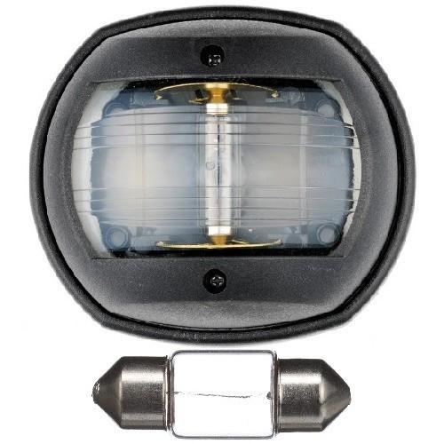 Огонь кормовой на катер лодку Classic 12 12 В 10 Вт пластик чёрный Osculati.