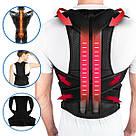 Коректор постави Back Pain Need Help медичний бандаж фіксатор пояс для спини випрямляч хребет Relief S, фото 2