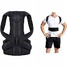 Коректор постави Back Pain Need Help медичний бандаж фіксатор пояс для спини випрямляч хребет Relief S, фото 6