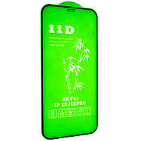Cтекло 11D для iPhone 12 Pro - black, premium