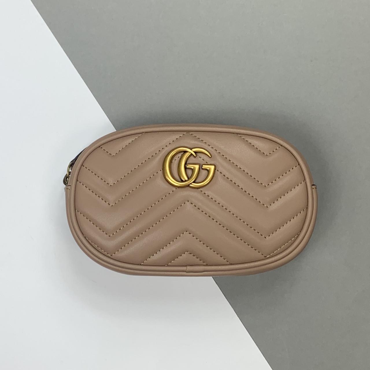 Поясная сумка GG Marmont Gucci 9А (Гуччи) арт. 04-16