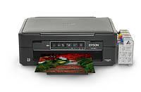МФУ Epson Wi-FI Expression Home XP 235 с СНПЧ с полным функционалом для фотопечати