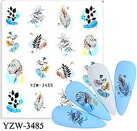 Слайдер водный для дизайна ногтей YZW-3485