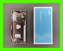 Дисплей Samsung N980 Galaxy Note 20 Bronze (GH82-23733B) сервисный оригинал в сборе с рамкой