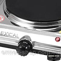 Електрична настільна плита Lexical LHP-2702 | 1500W, фото 2