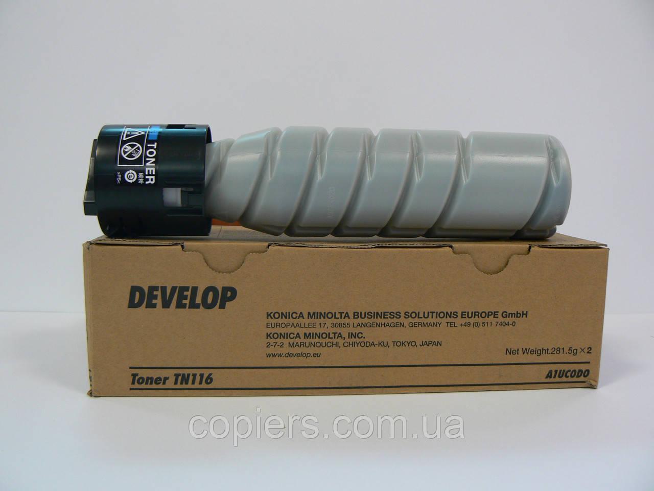 TN116 Develop тoнер картридж  Develop 164/165/184/185, оригинал, TN-116