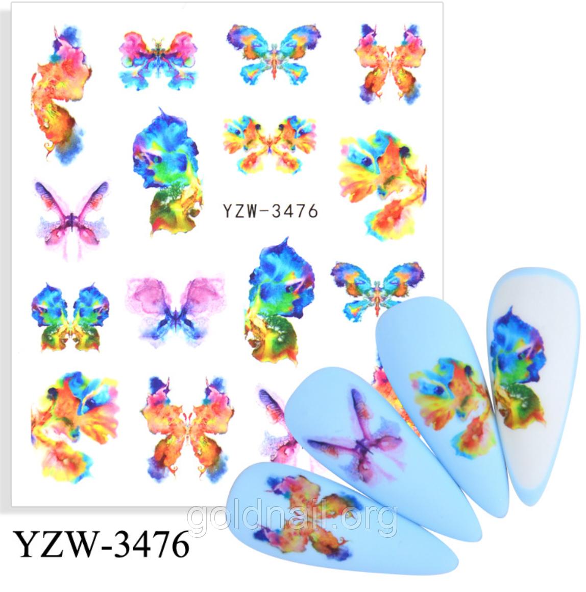Слайдер водний для дизайну нігтів YZW-3476