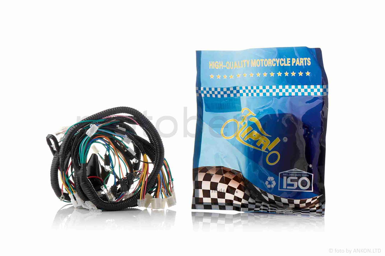 Проводка  на скутер GY6 150  F1