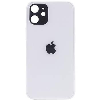 "TPU+Glass чехол GLOSSY Logo Full camera для Apple iPhone 12 mini (5.4"")"