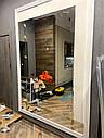 Зеркальное панно с рамкой из прямоугольников, фото 2