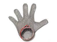 Перчатка кольчужная FoREST M красный ремень 383230, КОД: 1578856