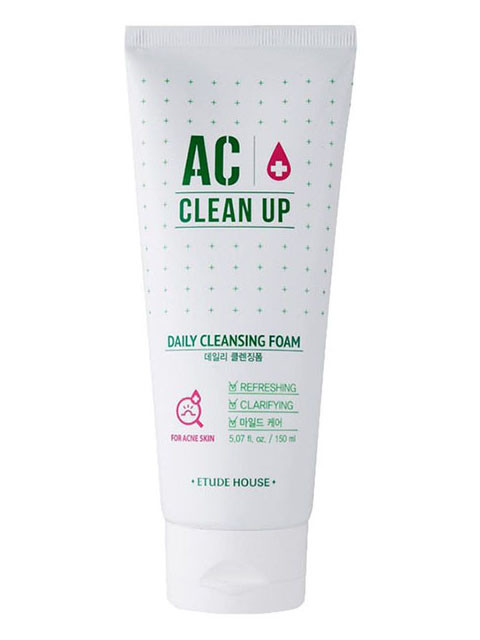 Очищаюча пінка для проблемної шкіри Etude House AC Clean Up Daily Acne Cleansing Foam 150 мл