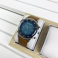 Красивые мужские часы Guardo 012430-3 Brown-Silver-Green