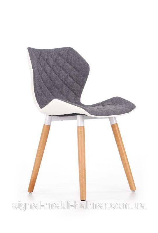 Стул K277 белый / серый стул (Halmar)