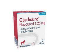 Кардишур 1,25 мг 100 таб (пимобендан)