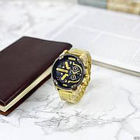 Красивые мужские часы Diesel DZ7314 Steel Gold-Black