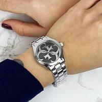 Чоловічі годинники наручні Guess 7222 GZM Silver-Black