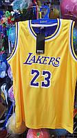 Форма баскетбольна юніорська NBA Lakers шорти і майка