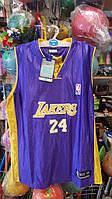 Форма баскетбольна юніорська NBA Lakers шорти і майка фіолетовий розмір XL