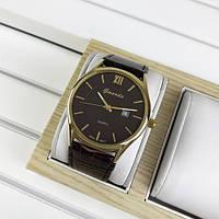 Красивые мужские часы Guardo 09478 Brown-Gold