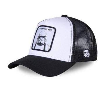 Біла кепка тракер з принтом Штурмовик - Зоряні війни
