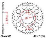 Звезда задняя стальная  JT JTR1332.42 JT Sprockets, фото 2