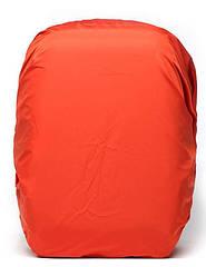 Чохол / дощовик / накидка на рюкзак водонепроникна (20-40 л / 40-70 л) L (40-70 л), ТЕМНО-ОРАНЖЕВИЙ